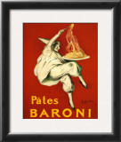 Pates Baroni, c.1921 Prints by Leonetto Cappiello