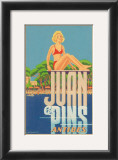 Juan Les Pins, Antibes, France Print by A. Kow