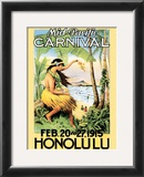 Mid-Pacific Carnival, 1915 Art