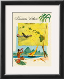 Fly Hawaiian Airlines Prints
