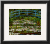 Bridge at Giverny Art by Claude Monet