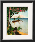 Paradise of Pacific, Outrigger Prints