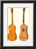 Antique Guitars I Posters by William Gibb