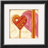 Pop Hearts II Prints by Nancy Slocum