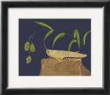 Ornamental Grasshopper II Print by Nina Tenser