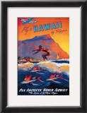 Fly to Hawaii Posters by M. Von Arenburg