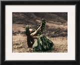 Offering to Pele, Hula Girl Posters by Alan Houghton