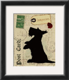 Scottie Silhouette Art by Nancy Shumaker Pallan