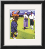 Tee Off Print by Michael Cassidy