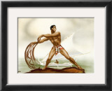 Net Fisherman with Outrigger Posters by  Gill