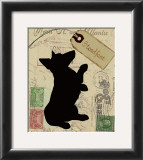 Corgi Silhouette Art by Nancy Shumaker Pallan