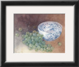 Still Life with Grapes Prints by Shirley Felts