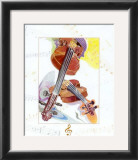 Violon Print by A.. Cromwell