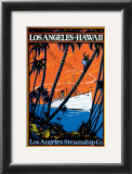Los Angeles Steamship Company Poster