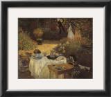 Le dejeuner Prints by Claude Monet