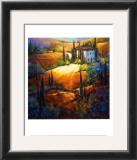 Morning Light Tuscany Art by Nancy O'toole