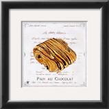 Pain au Chocolat Print by Ginny Joyner