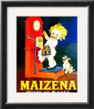 Maizena Poids Et Sante Prints by Marcellin Auzolle