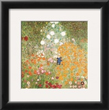 Flowery Garden Print by Gustav Klimt