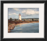 Edgartown Lighthouse Art by Todd Williams