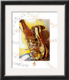 Saxophone Poster by A.. Cromwell