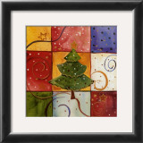 Christmas Tree Art by Carol Robinson