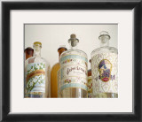 French Perfume Bottles I Prints by Madelaine Gray