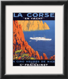 Corse En Yacht Poster by Hoock 