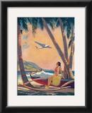 Hawaiian Hula Girl Fantasy Posters by Frederick Heckman