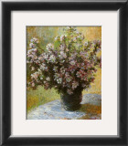 Viso di Malva Print by Claude Monet
