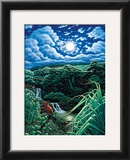 Full Moon over Seven Sacred Pools Posters by Hans Olson