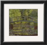 El estanque de las ninfeas Poster por Claude Monet
