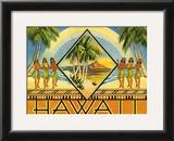 Hawaii Brochure, 1943 Print