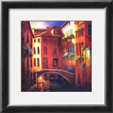 Sunset in Venice Posters by Nancy O'toole