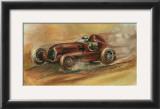 Le Mans, 1935 Art by Ethan Harper