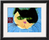 Cat's Head Prints by Walasse Ting