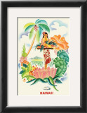 Tropical Abundance Print by Frank MacIntosh