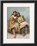 Hawaiian Beauties Print