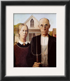 American Gothic Prints by Grant Wood