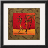 Sun Tribe I Print by Kamba 