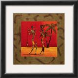 Sun Tribe I Print by  Kamba