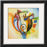 Jazz on the Circle Prints by Alfred Gockel
