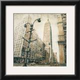 Empire State Building from Madison Avenue Posters by Matthew Daniels