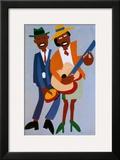 Blind Singer Art by William H. Johnson