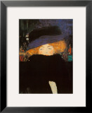 Lady with Hat Posters by Gustav Klimt