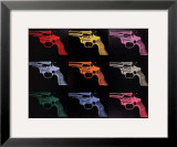 Gun, c.1982 Prints by Andy Warhol