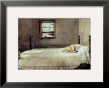 Master Bedroom Prints by Andrew Wyeth