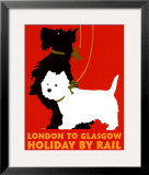 Holiday by Rail Print by Johanna Kriesel
