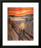 The Scream, c.1893 Print by Edvard Munch
