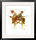 Lazy Days Posters by Norman Rockwell